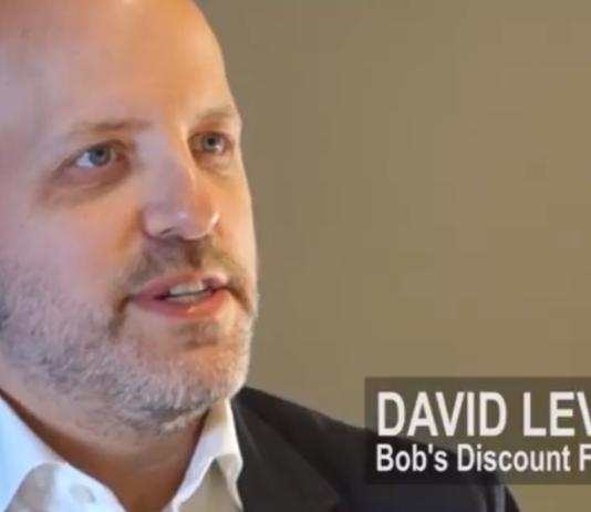 David Levin of Bob's Discount Furniture